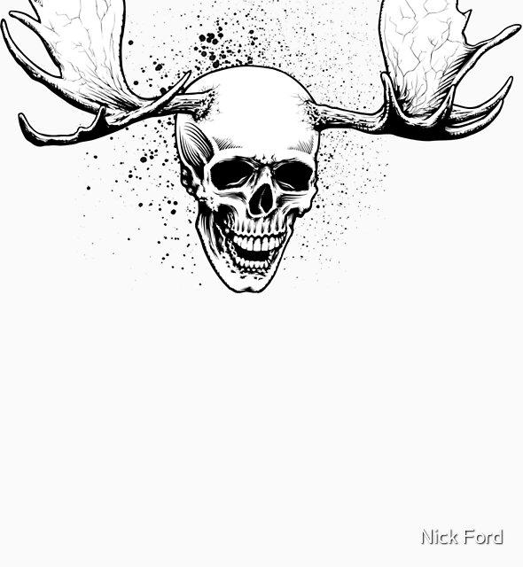 Cranius Alces Sapien by Nick Ford