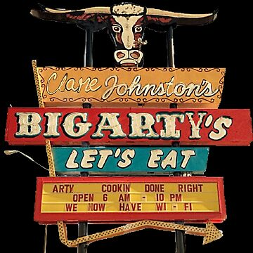 Big Arty's Let's Eat by Artyteeslondon