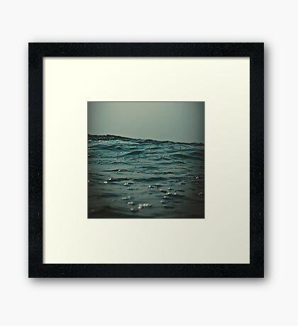 Indian ocean Framed Print