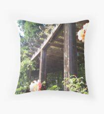 Berkeley Rose Garden Throw Pillow