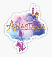 Anastasia Musical Broadway Show Russian Romantic Theatre Play Sticker