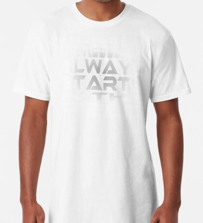 The Rebellion Always Starts in the Field Long T-Shirt