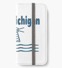 Lake Michigan Lighthouse Water Beach Seashore iPhone Wallet/Case/Skin