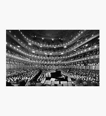 Lámina fotográfica Antiguo concierto de la Ópera Metropolitana - NYC 1937