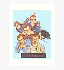 griffin mcelroy: human cryptid (poster edition) Art Print