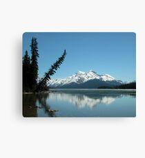 Lake Maligne Canvas Print