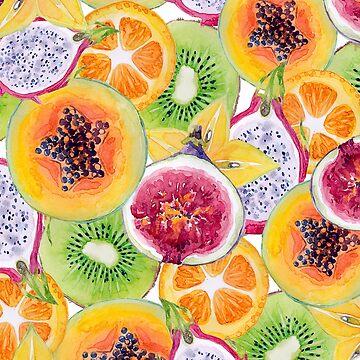 Tutti Frutti summer delight by peggieprints