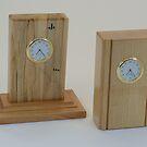 Mini Mantle Clocks 01-02 by Robert's Woodworking Studio
