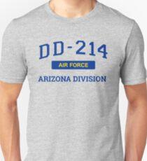 Air Force Veteran Shirt DD214 Arizona T-Shirt Unisex T-Shirt