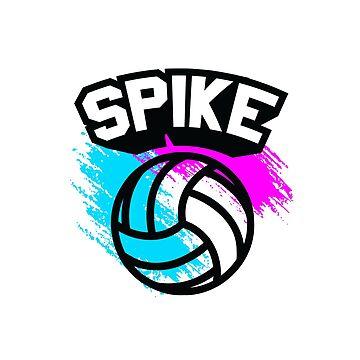 Spike Volleyball  by jrdesign1