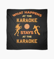 What Happens at the Karaoke Singing Lovers Scarf