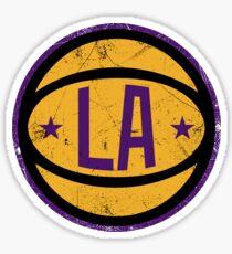 LA retro Ball 2 Sticker