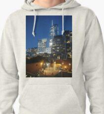 Manhattan, New York City, downtown, #Manhattan, #NewYorkCity, #downtown Pullover Hoodie