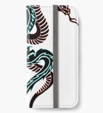 dragon and snake iPhone Wallet/Case/Skin