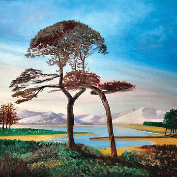 Loch Tullah - Scotland by giovanniart