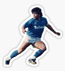 Pegatina Diego Maradona