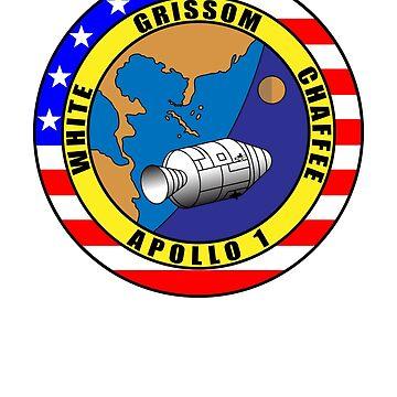 Apollo 1 NASA by 5thcolumn