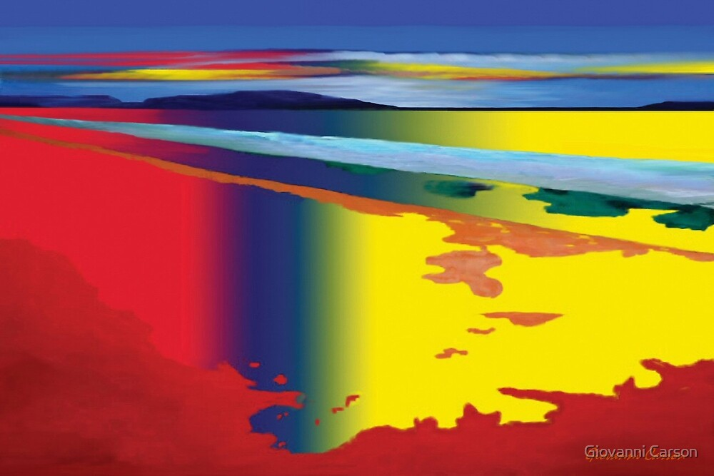 RainBow Sea  by Giovanni Carson