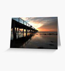 Sunset at Semaphore Greeting Card