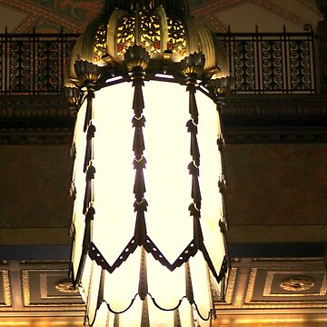 Beautiful Chandelier in Fisher Building - Detroit by anitahiltz