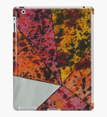 Corner Splatter # 10 iPad Case/Skin