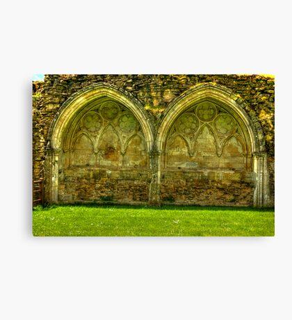Kirkham Abbey Ruins #1 Canvas Print