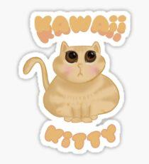 Kawaii Dumpling Kitty Sticker