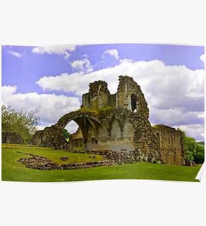 Kirkham Abbey Ruins #3 Poster