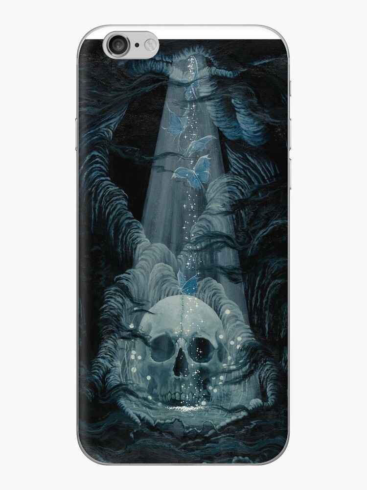 Fairyland Skulls and Butterflies by MegaraWiild
