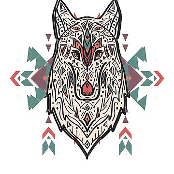 The beautiful wolf by TAKASH