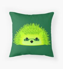 Vedgy, Broccoli Blades Throw Pillow