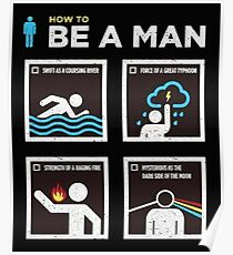 How to Be a Man Poster
