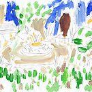 Garden Scene by John Douglas