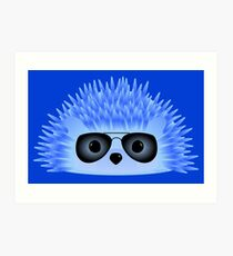 Wedgy is ... Berry Cool Art Print