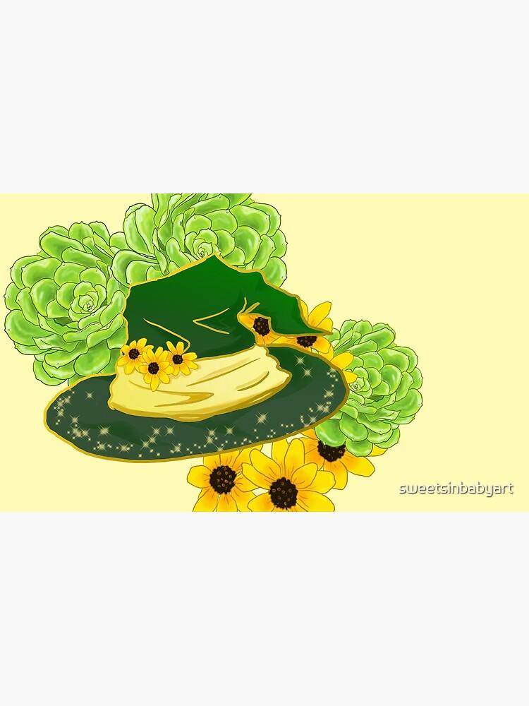 Garden Witch by sweetsinbabyart