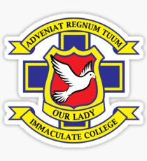 Derry Girls School Crest Small Sticker