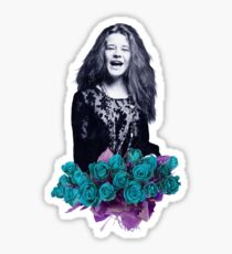 Janis - purple  Sticker