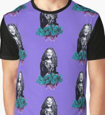 Janis - purple  Graphic T-Shirt