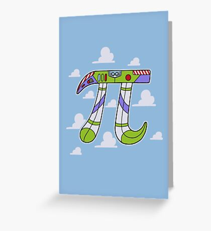 To Infinity Greeting Card