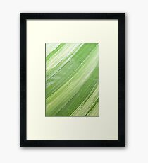 Ink & Charcoal #3 Framed Print