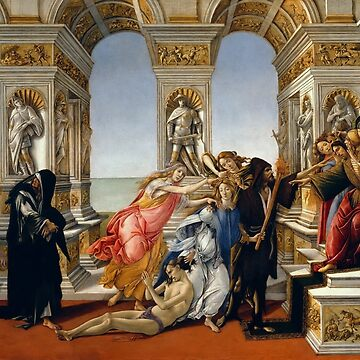 Verleumdung von Apelles - 1494-95 - Sandro Botticelli von justonedesign