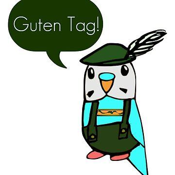 Guten Tag! by parakeetart