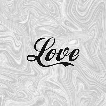 Love 1 - Minimalist Print by Shrijit