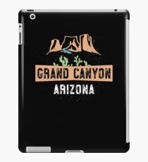 Grand Canyon TShirt - Arizona Cactus Canyon Vacation Gift iPad Case/Skin