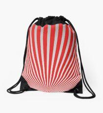Red Japanisches Minimal Design Rucksackbeutel