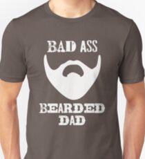 997ae252 Bad Ass Bearded Dad - T Shirt Unisex T-Shirt