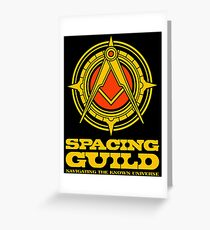 Spacing Guild  Greeting Card