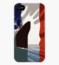 French 3d nautical travel design iPhone 4s/4 Case