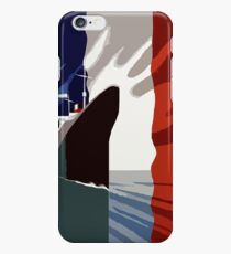 French 3d nautical travel design iPhone 6 Case
