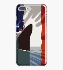 French 3d nautical travel design iPhone 7 Plus Case
